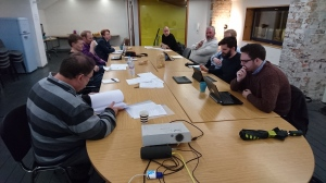 Wednesday Meeting: 13th January